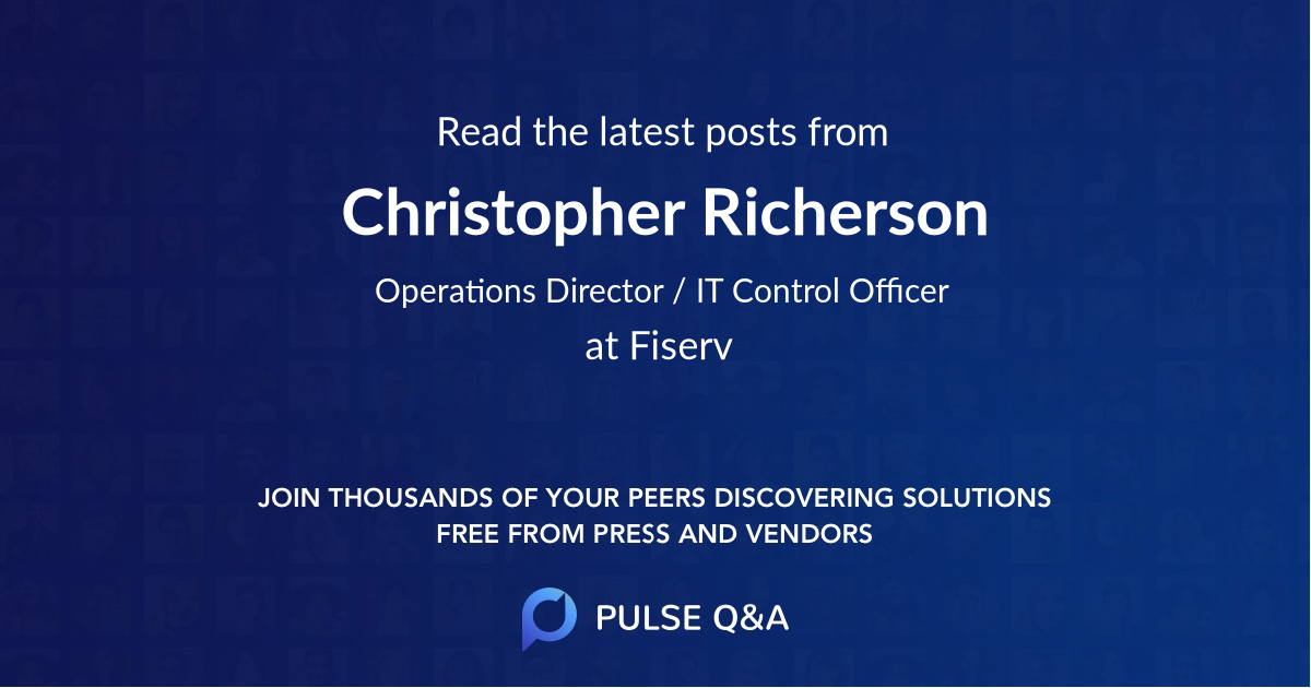 Christopher Richerson