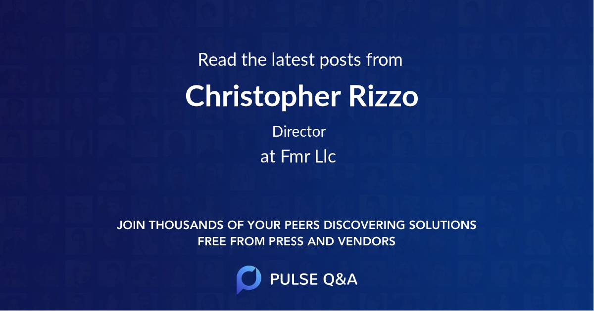 Christopher Rizzo