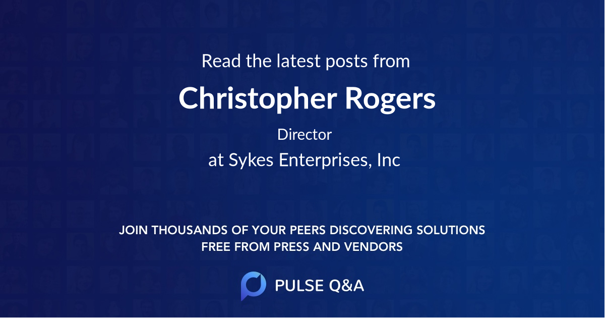 Christopher Rogers