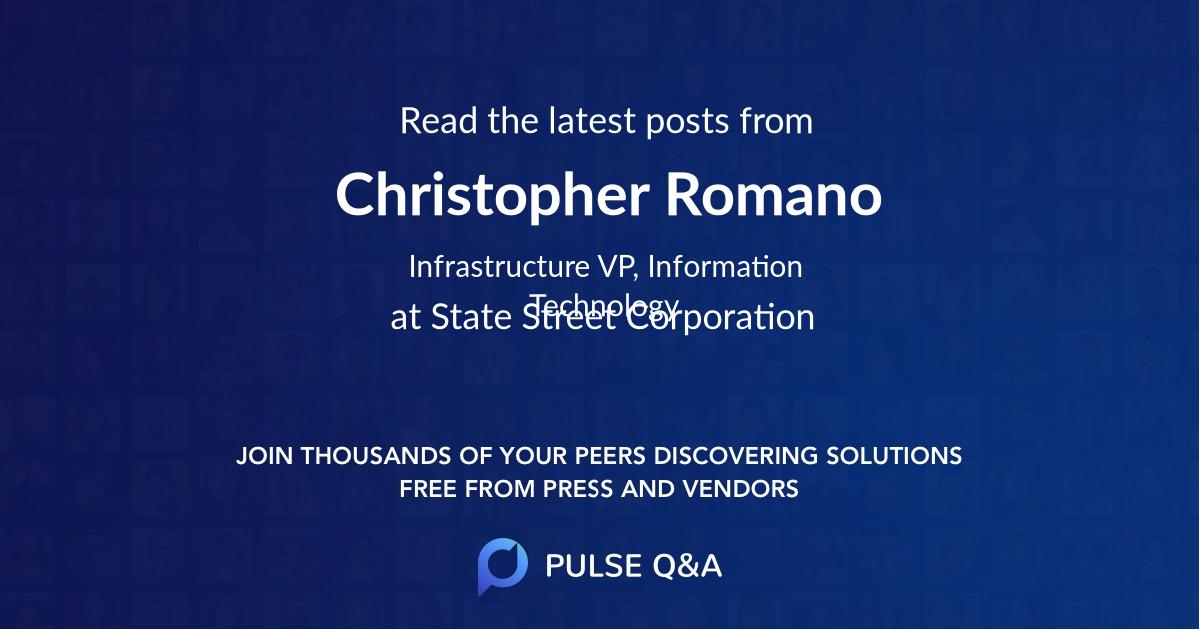 Christopher Romano