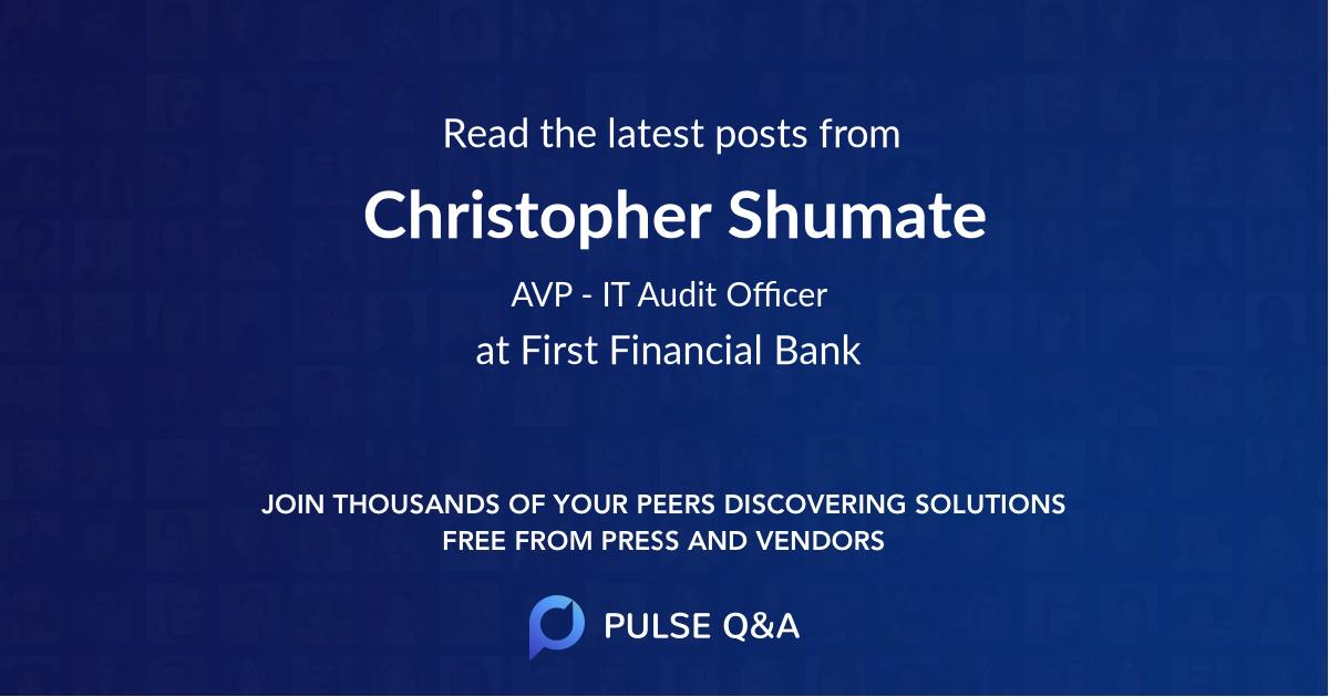 Christopher Shumate