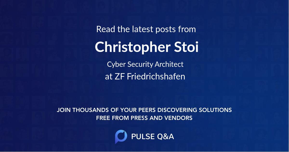 Christopher Stoi