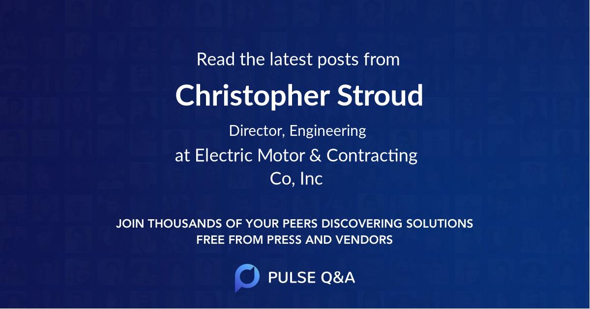 Christopher Stroud