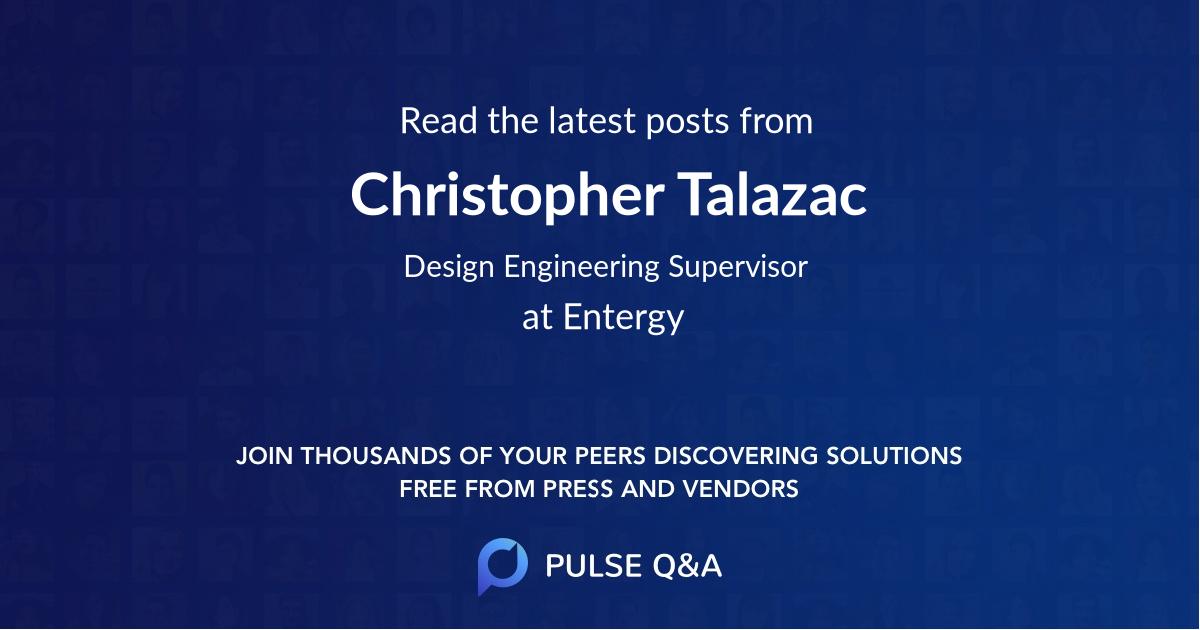 Christopher Talazac