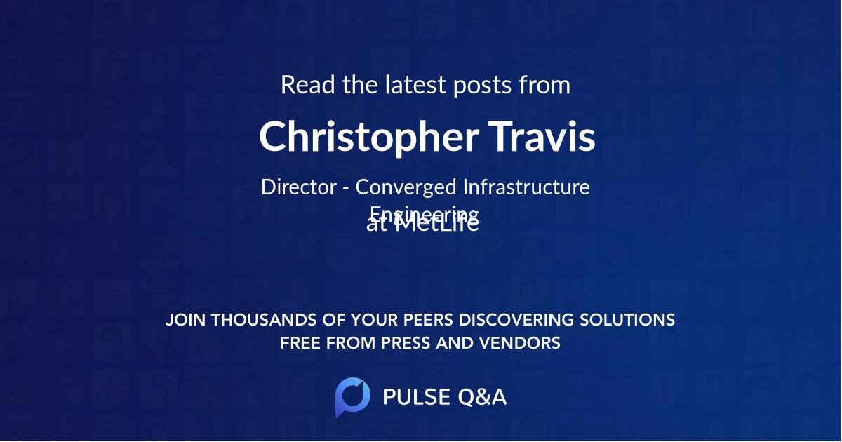Christopher Travis
