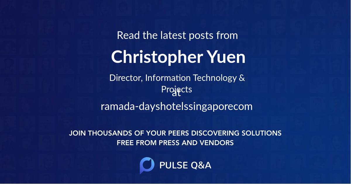 Christopher Yuen