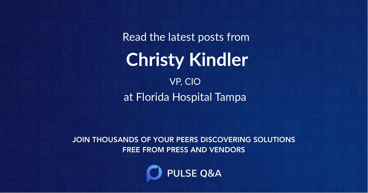 Christy Kindler