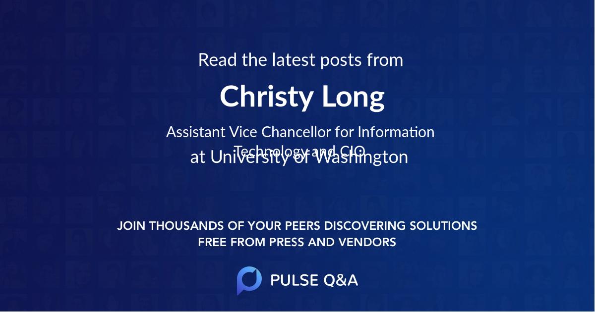 Christy Long