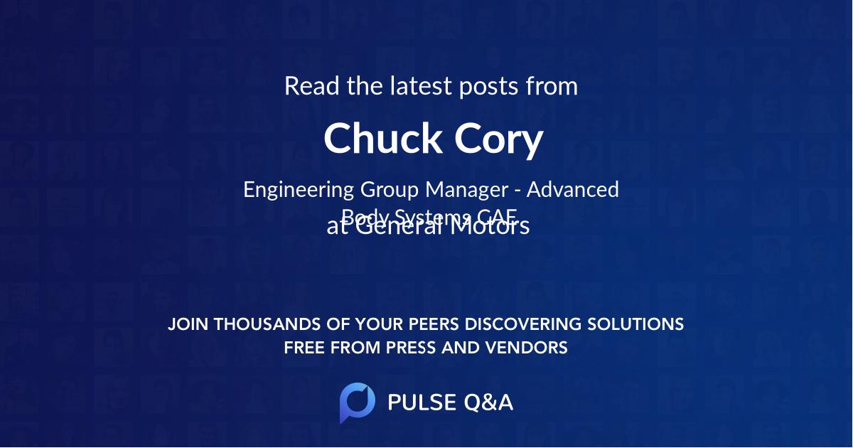 Chuck Cory
