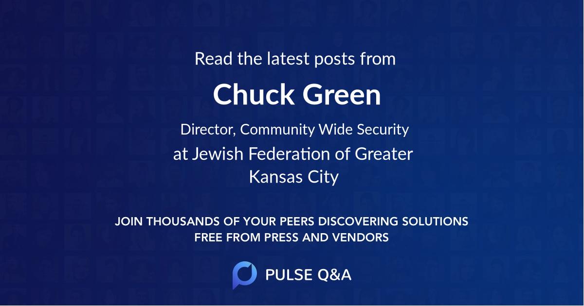 Chuck Green