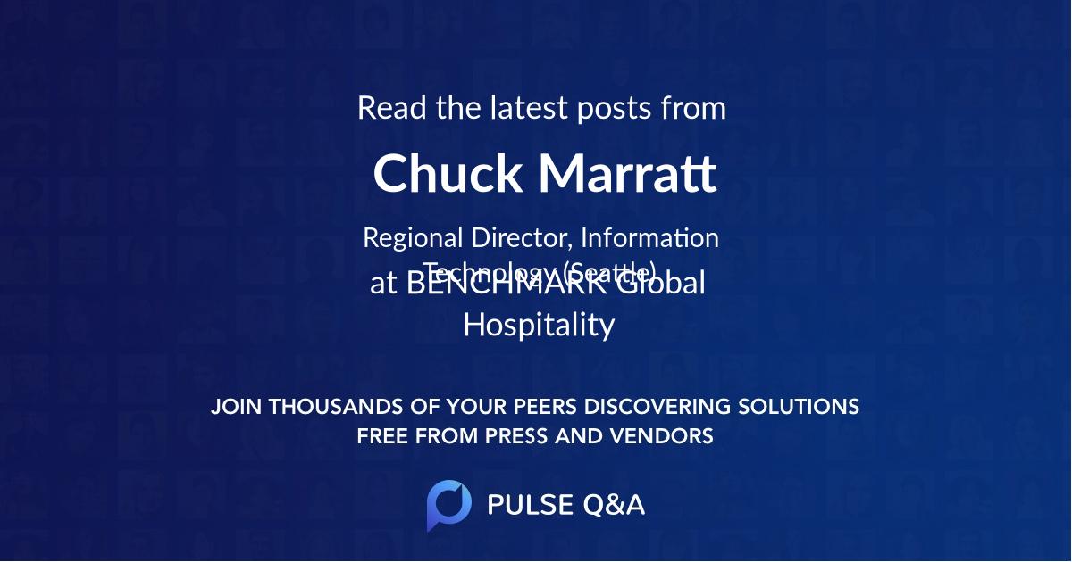 Chuck Marratt