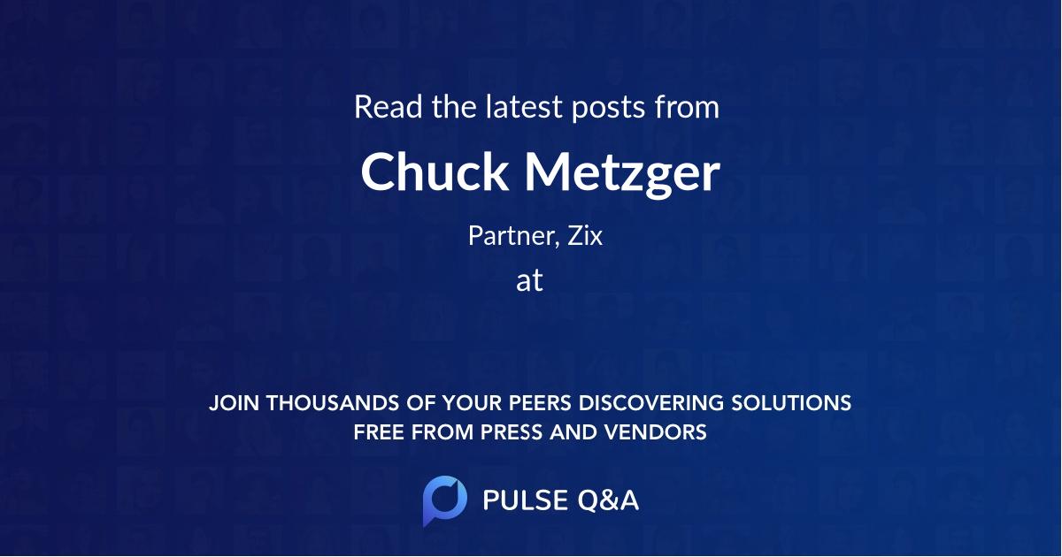 Chuck Metzger