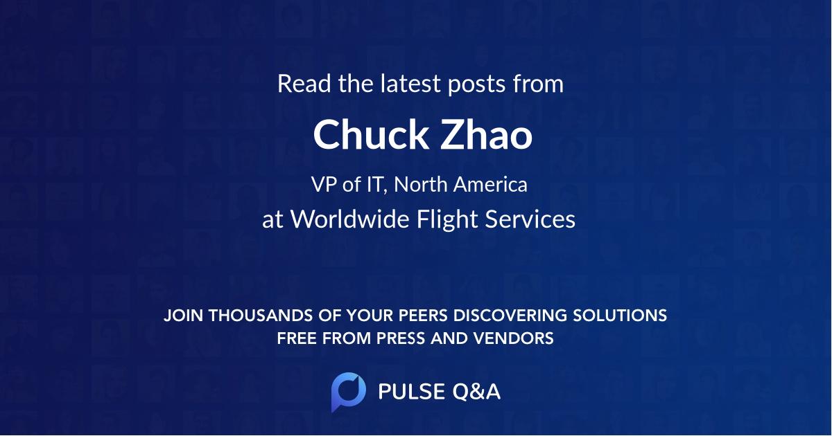 Chuck Zhao