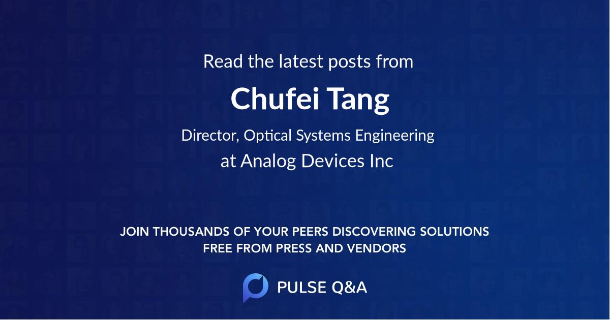 Chufei Tang