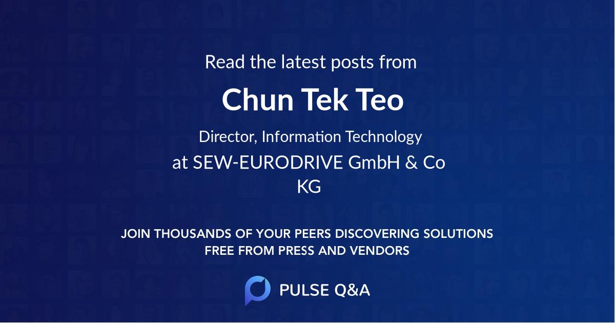 Chun Tek Teo