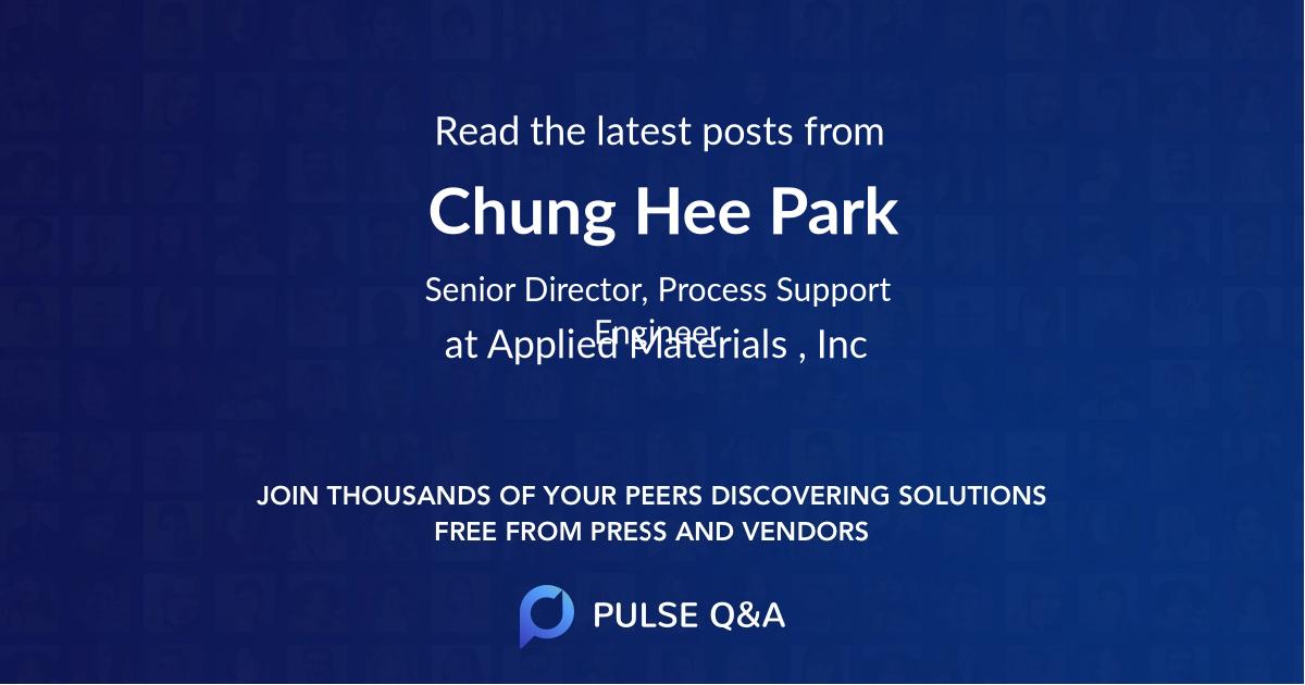 Chung Hee Park