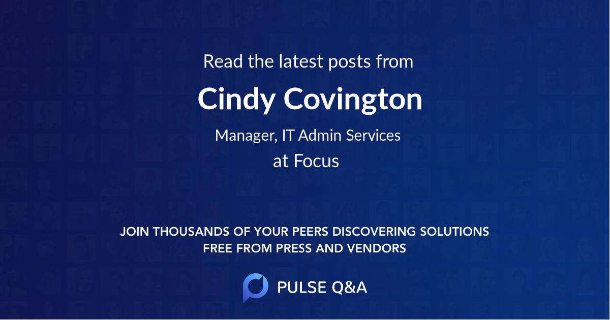 Cindy Covington