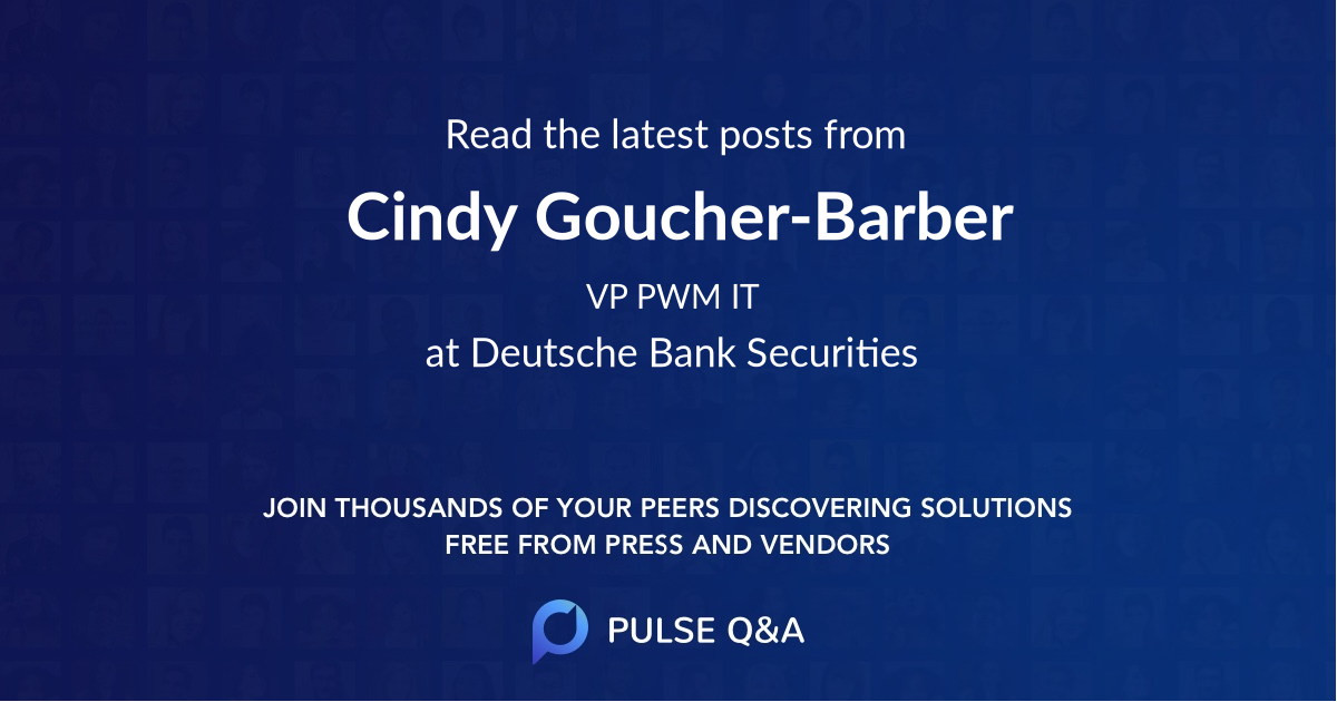 Cindy Goucher-Barber