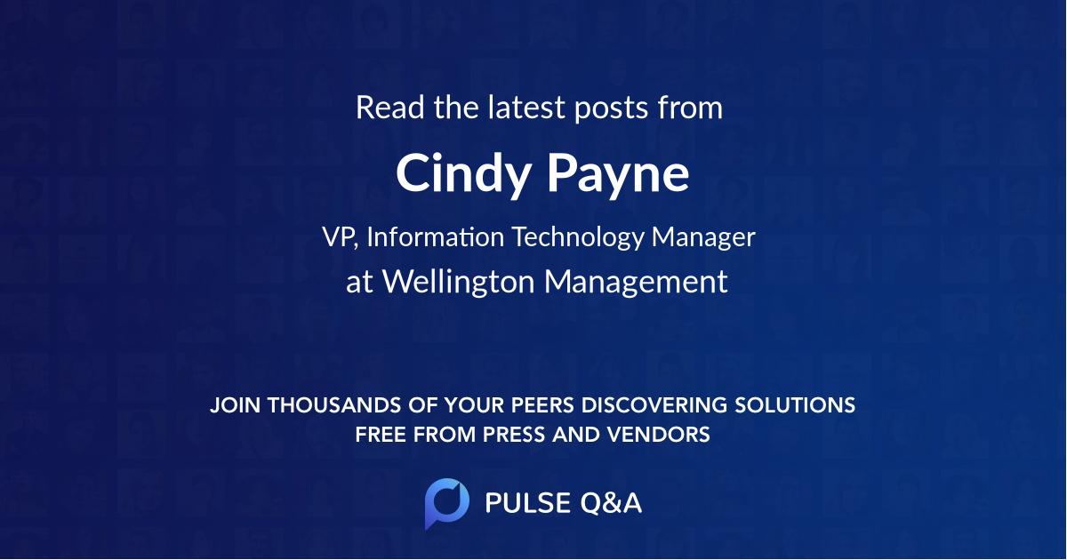 Cindy Payne
