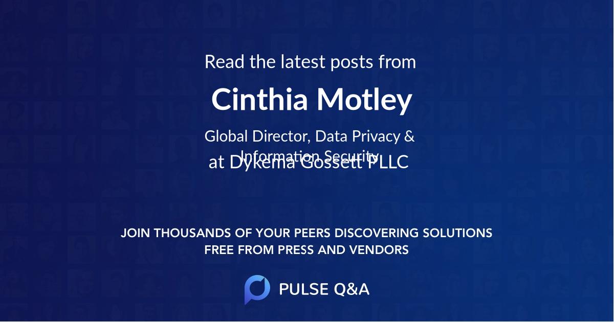 Cinthia Motley
