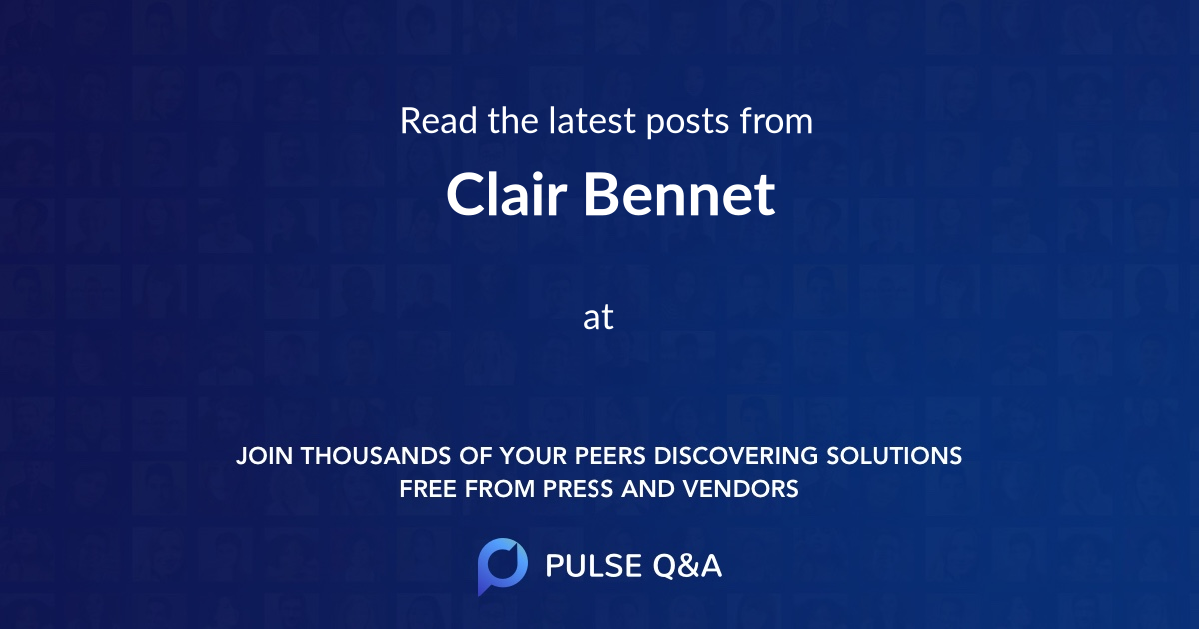 Clair Bennet