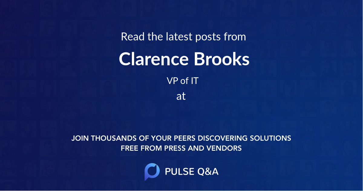 Clarence Brooks
