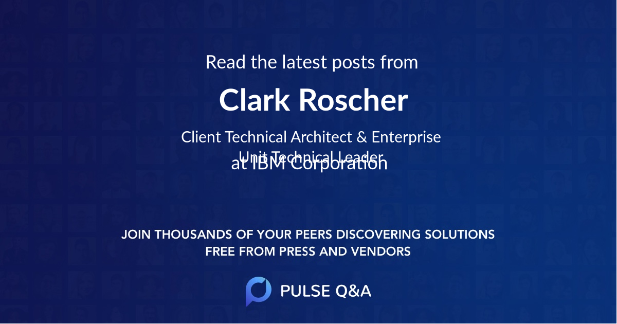 Clark Roscher