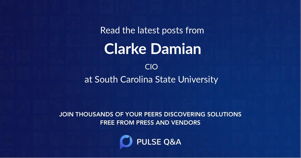 Clarke Damian