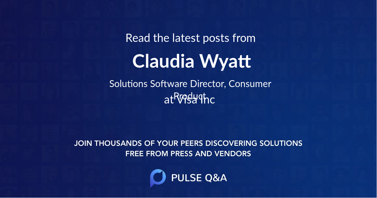 Claudia Wyatt