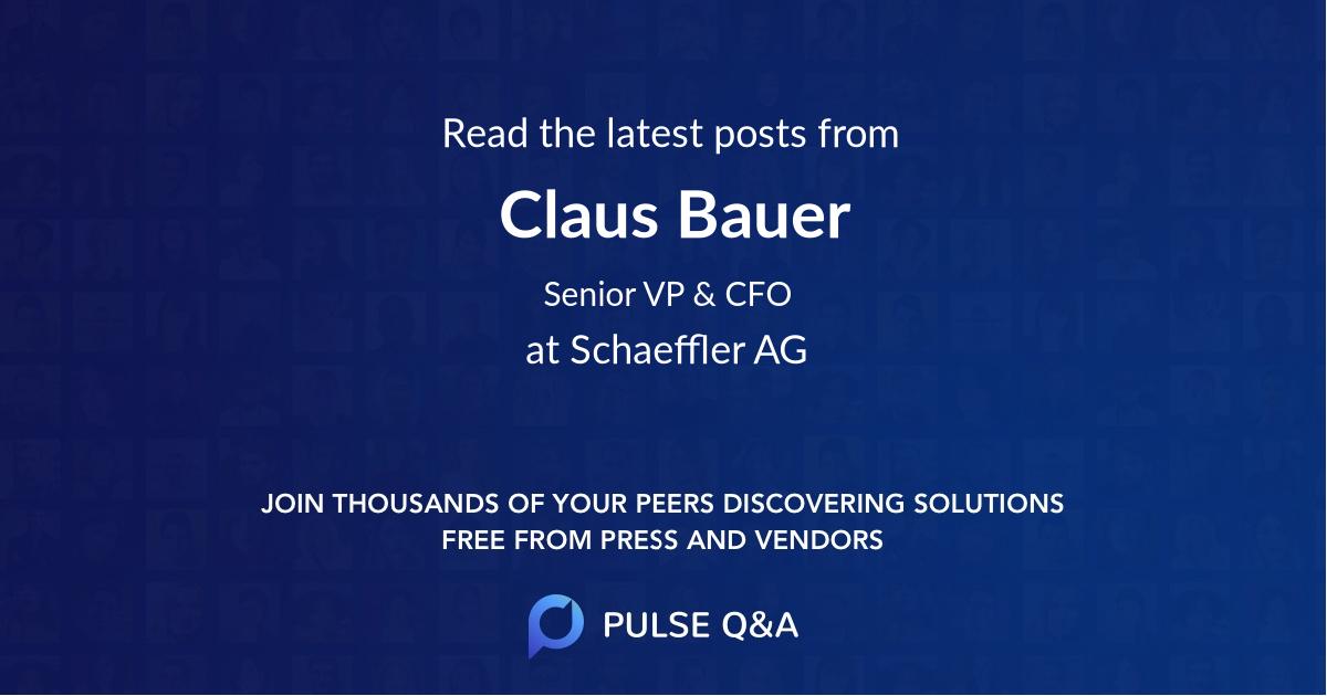 Claus Bauer