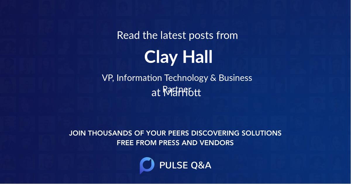 Clay Hall