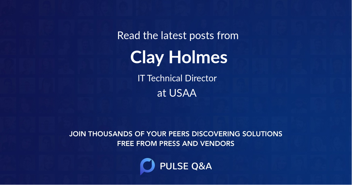 Clay Holmes