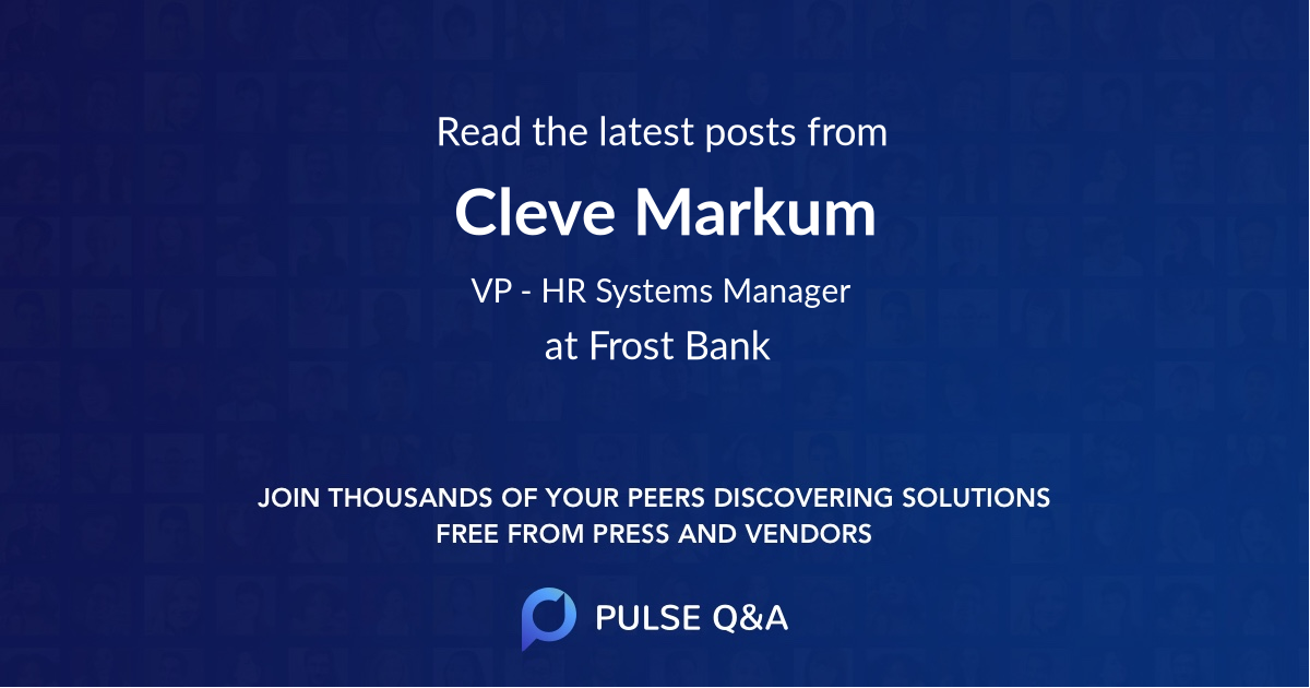 Cleve Markum