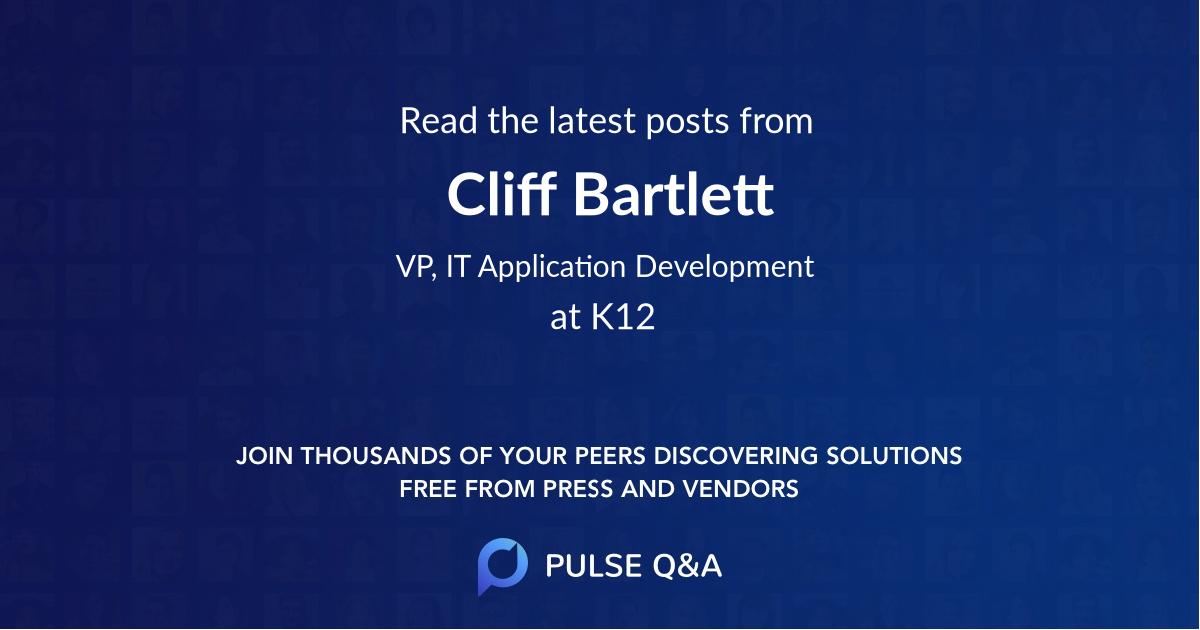 Cliff Bartlett