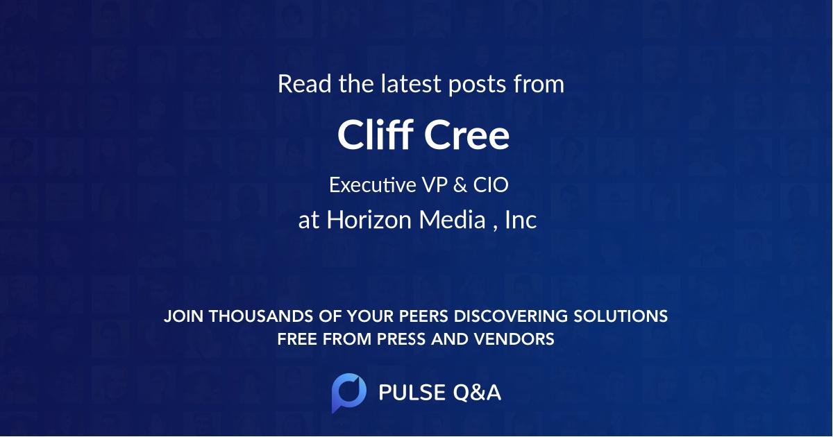 Cliff Cree