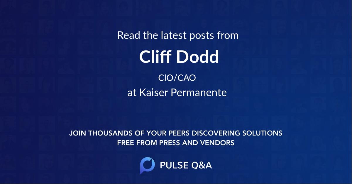 Cliff Dodd