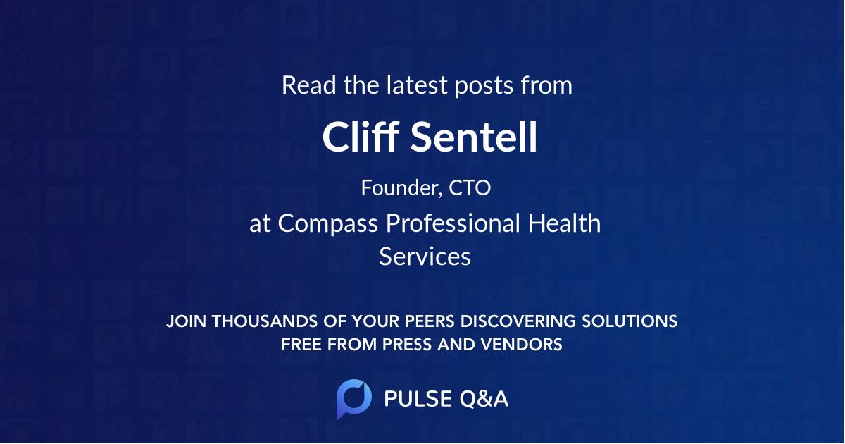 Cliff Sentell