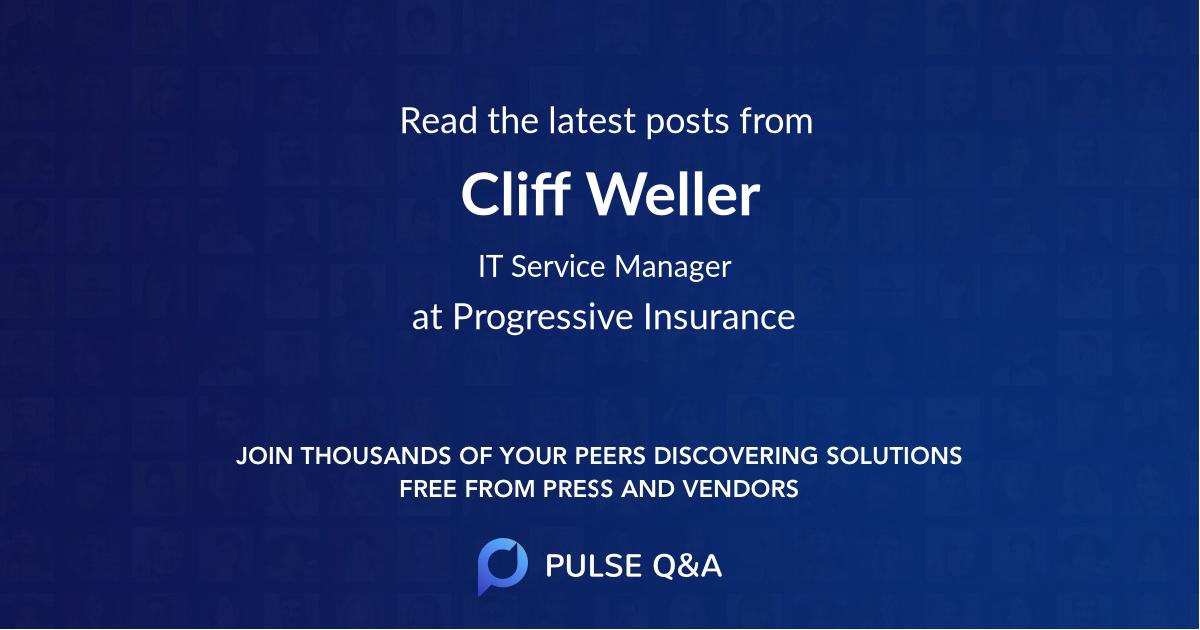 Cliff Weller