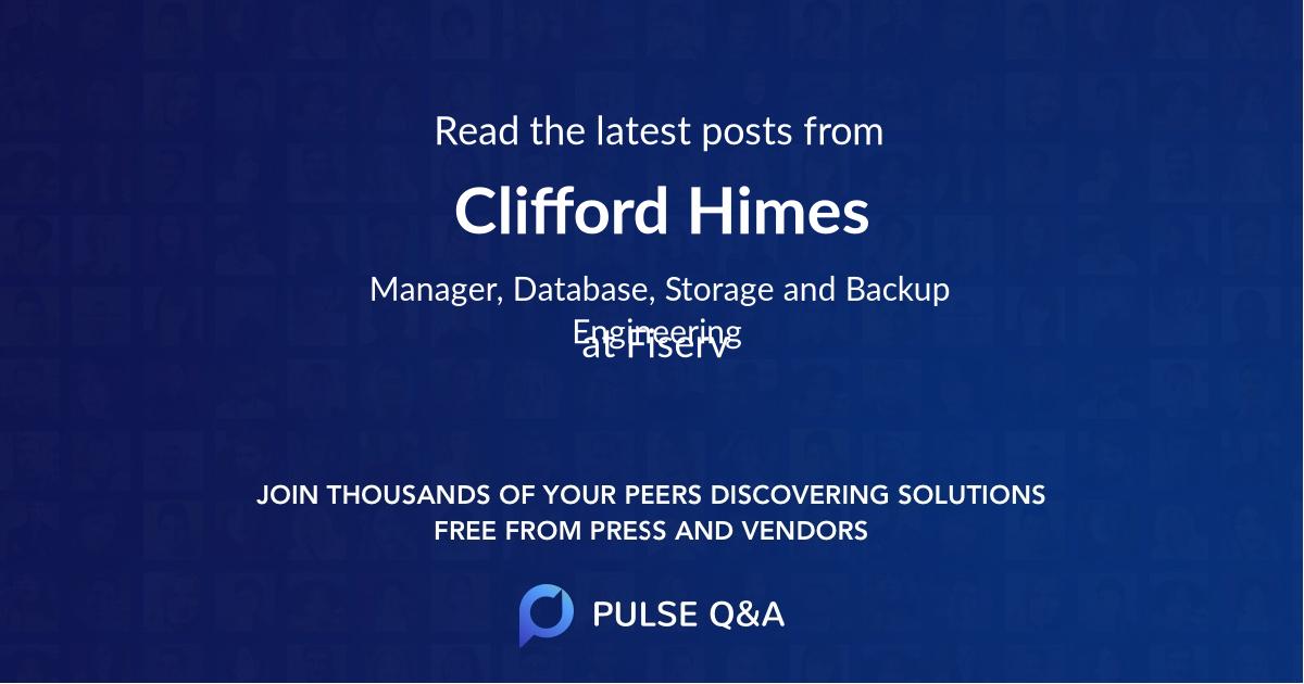 Clifford Himes