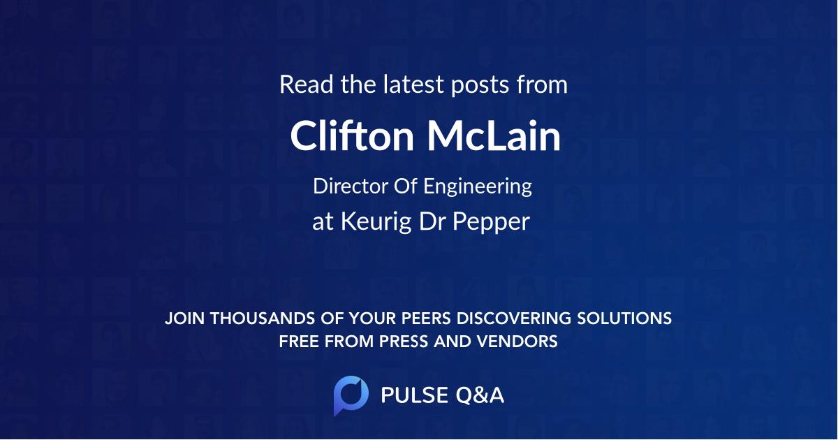 Clifton McLain