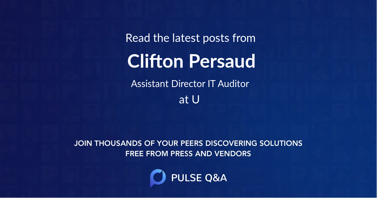 Clifton Persaud