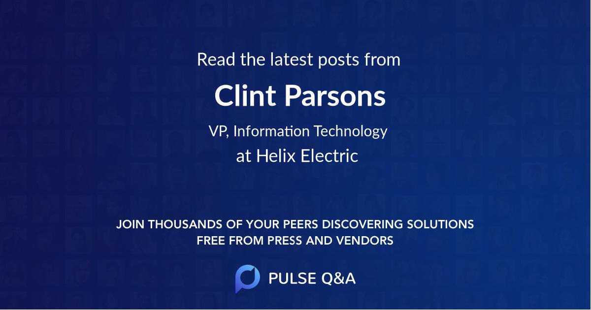 Clint Parsons