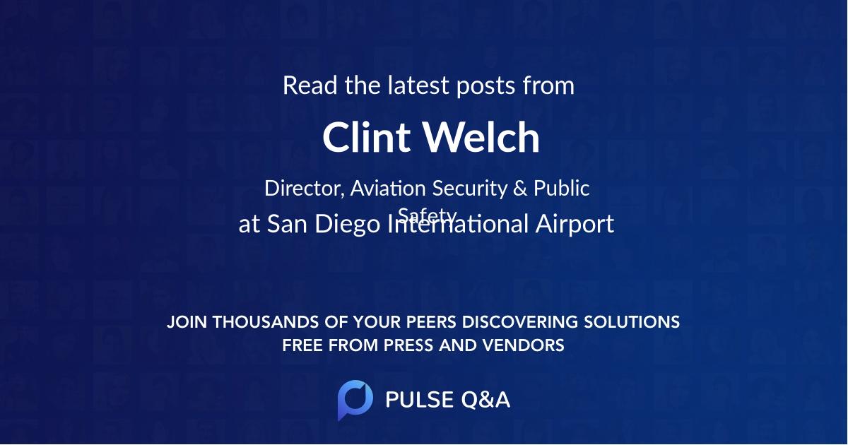 Clint Welch