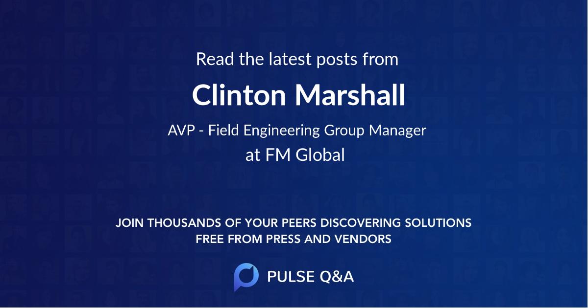 Clinton Marshall