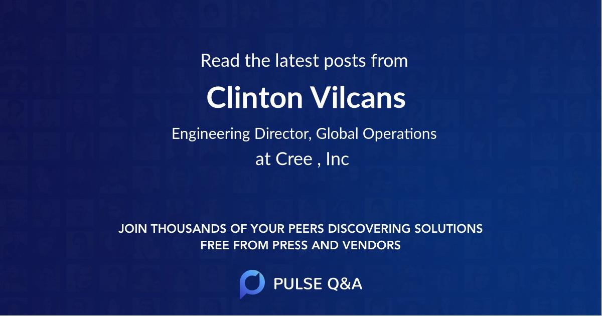 Clinton Vilcans