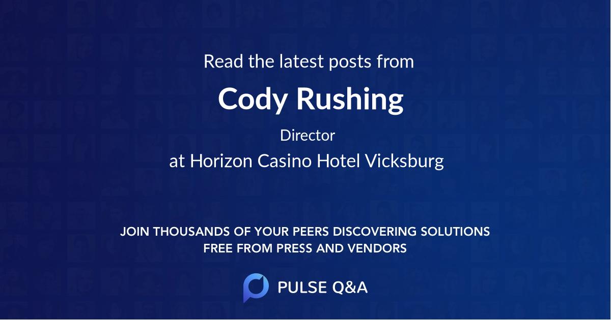 Cody Rushing