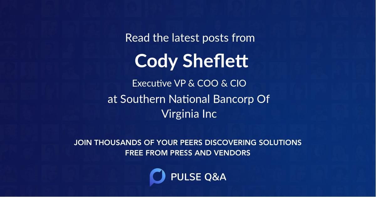 Cody Sheflett