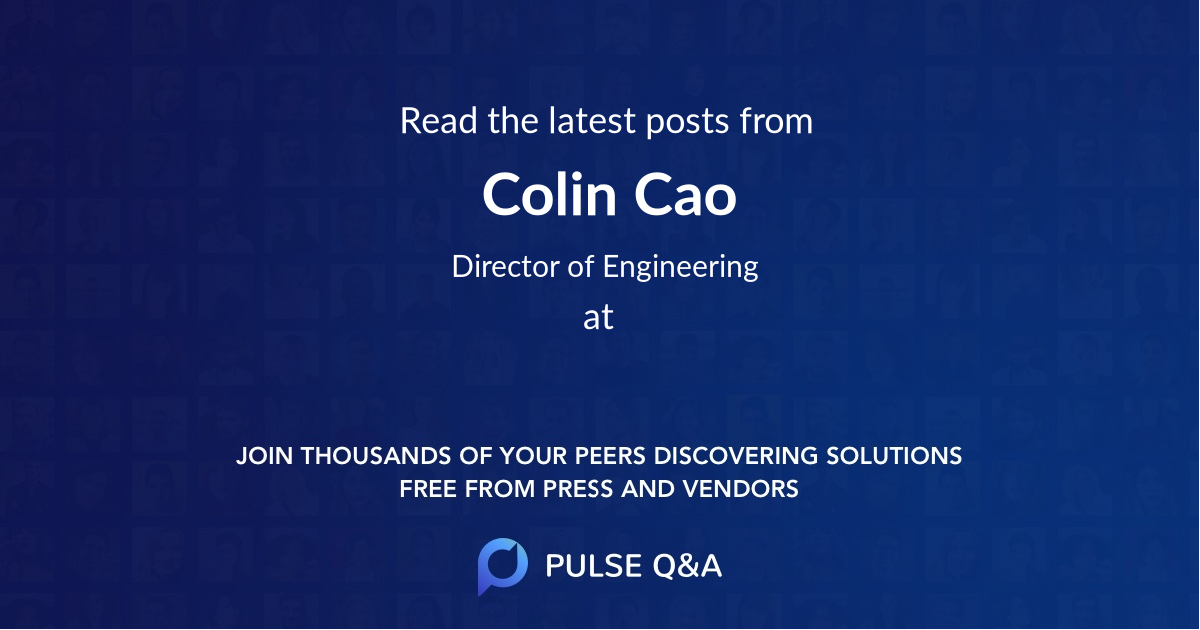 Colin Cao