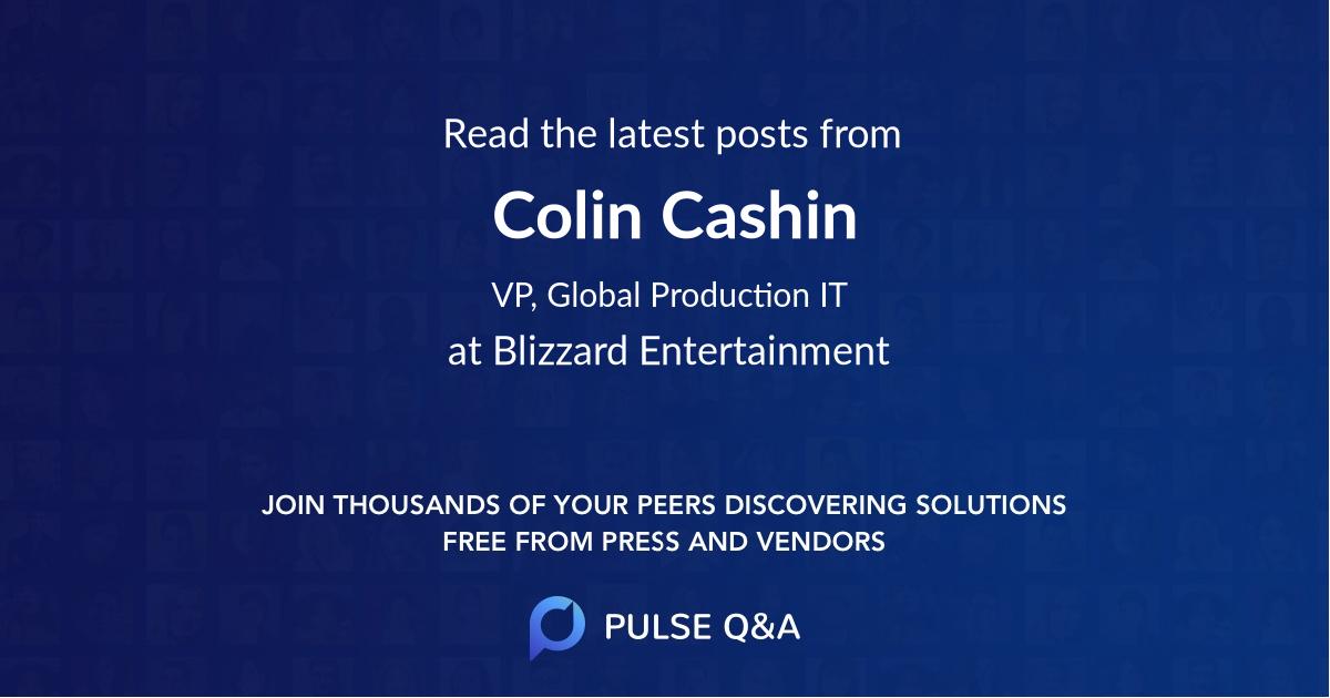 Colin Cashin