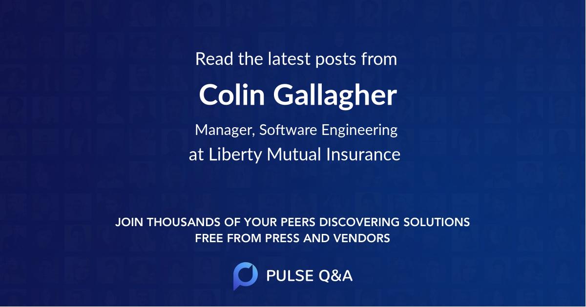 Colin Gallagher
